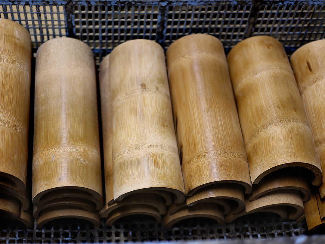 竹首まくら素材
