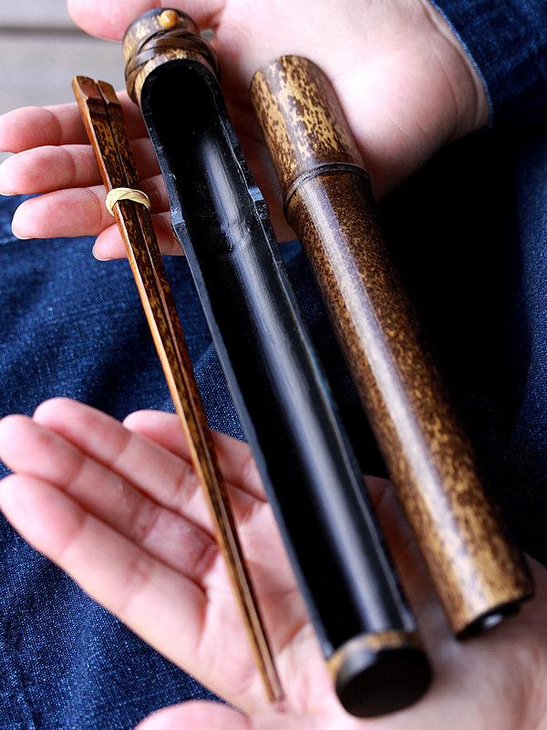 黒竹マイ箸