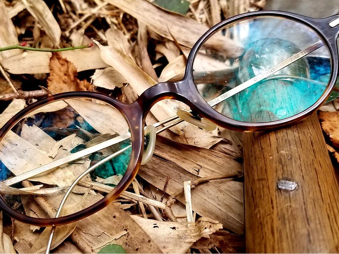 竹虎四代目愛用のメガネ