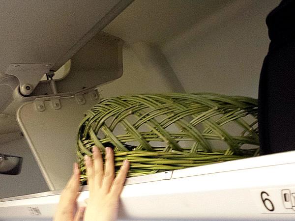 機内荷物棚