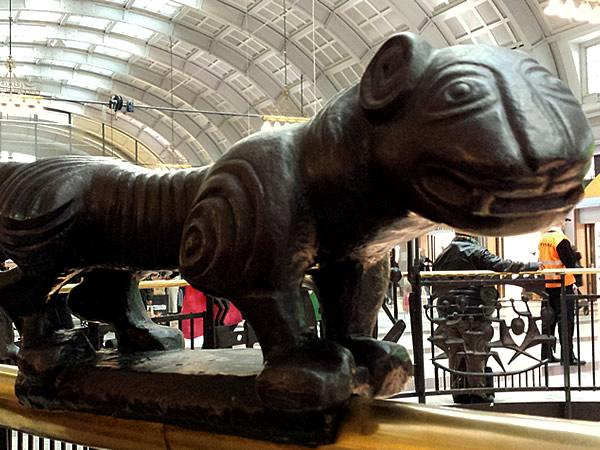 ストックホルム中央駅の虎