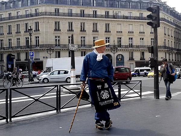 パリ、竹虎四代目,作務衣,さむえ,SAMUE