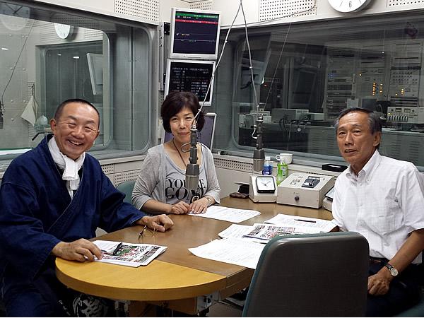 相澤俊夫さん、井津葉子さん、竹虎四代目