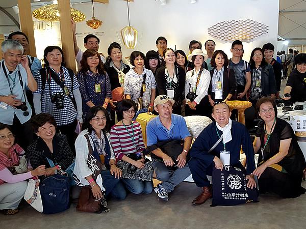 2015世界竹博覧会へ台湾からの訪問団