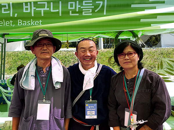 韓国潭陽の竹職人さん