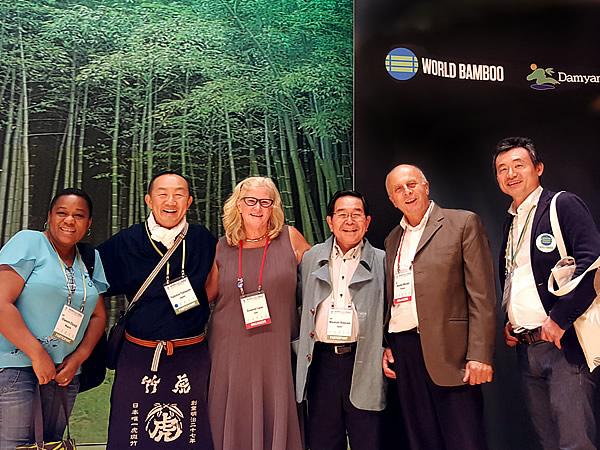 第10回世界竹会議(World Bamboo Congress)竹虎四代目