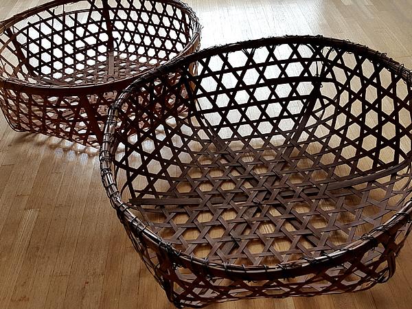 漆工房の竹籠