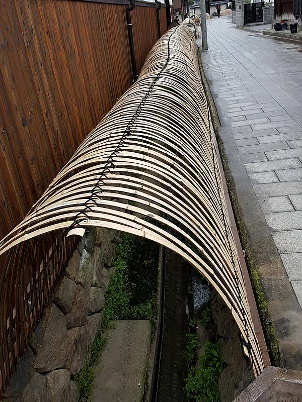 竹の防護柵