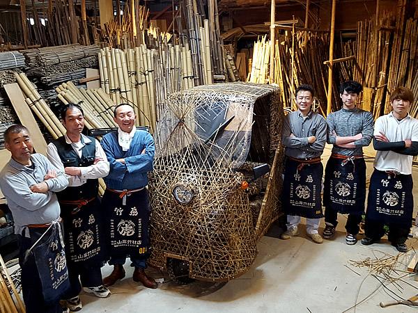 日本唯一の虎竹自動車製造