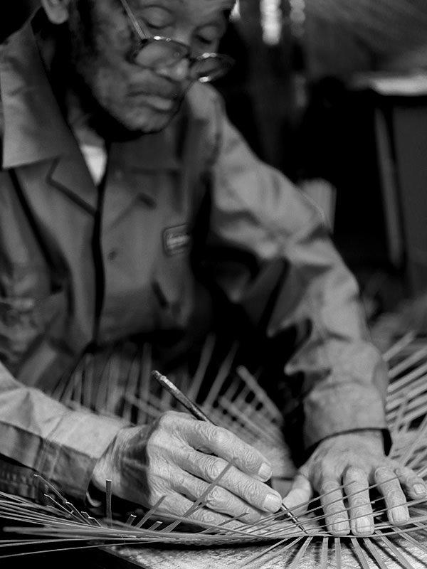竹細工職人