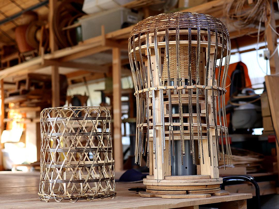 虎竹スツール製作