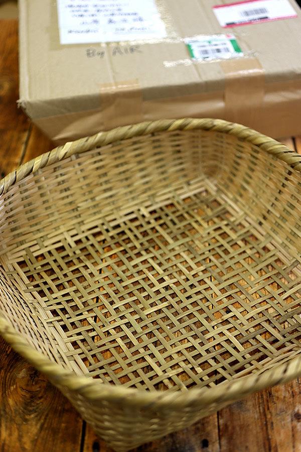 イギリスからの竹籠