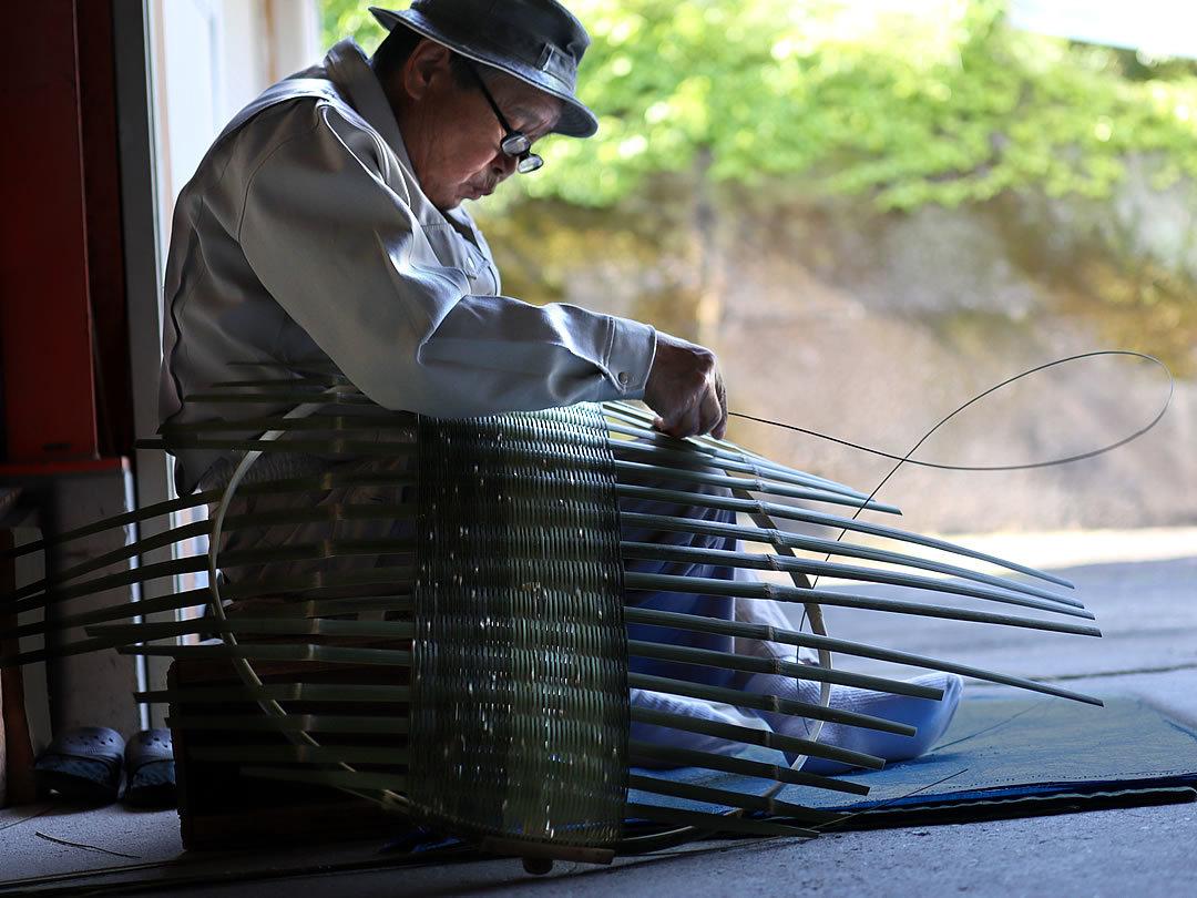 竹細工作り方