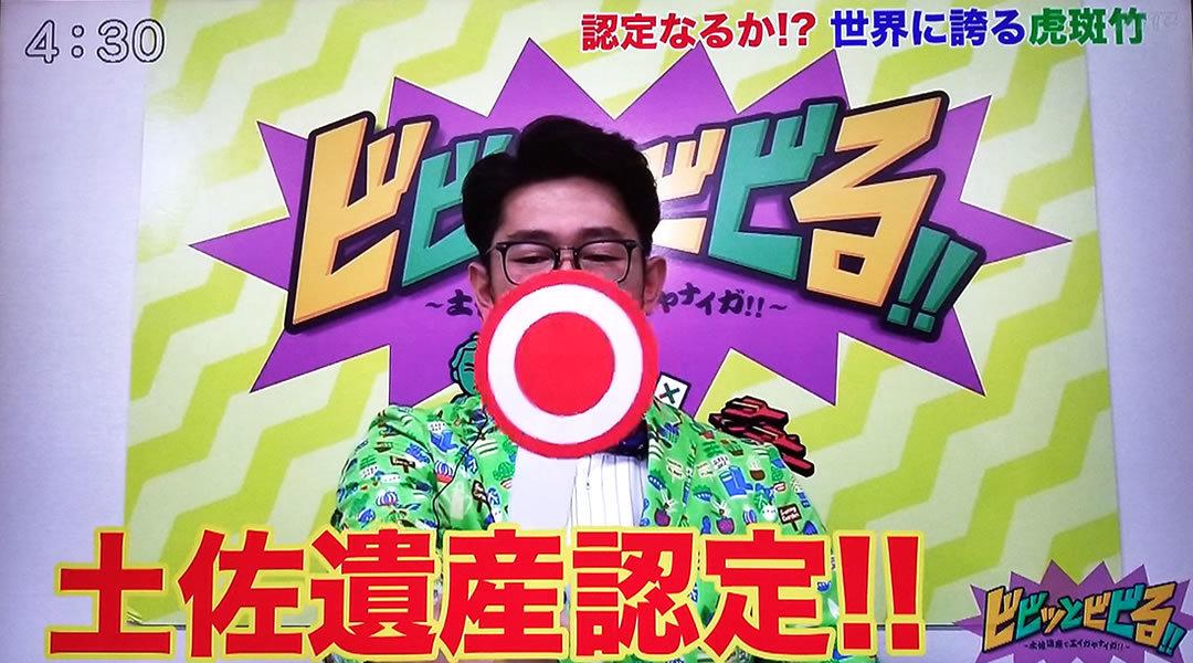 RKC高知放送「ビビっとビビる!!」