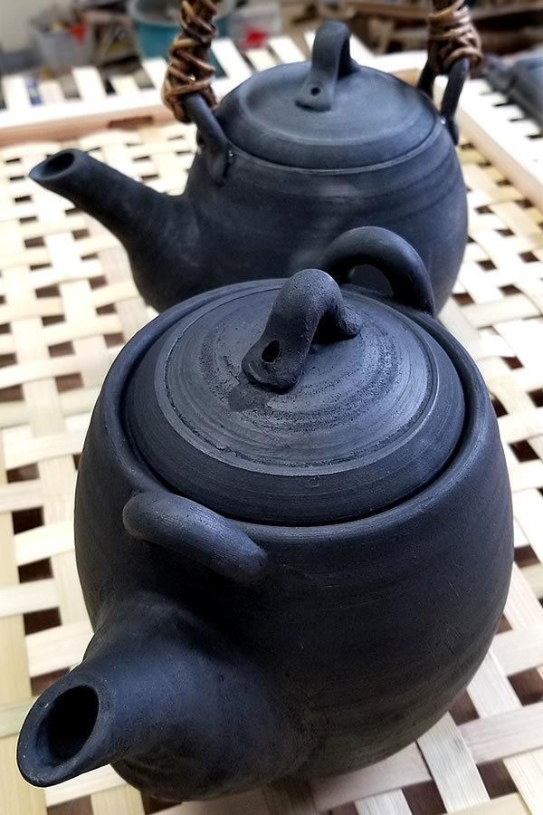 竹炭焼き急須