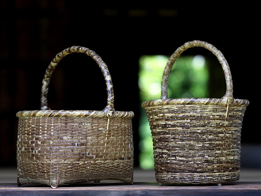 虎竹買い物籠
