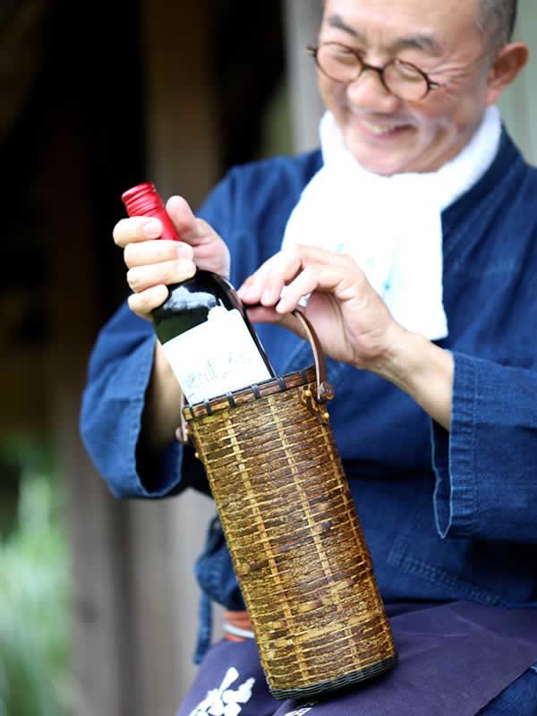 虎竹ワインバッグ