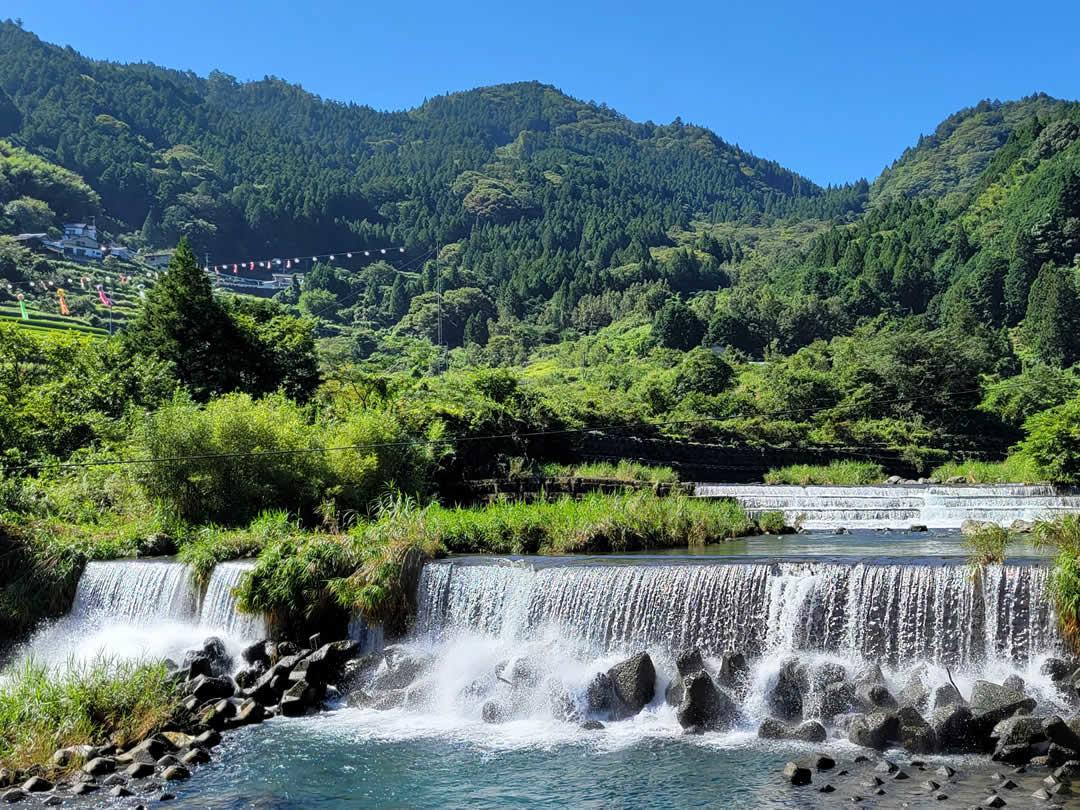 仁淀川支流の滝