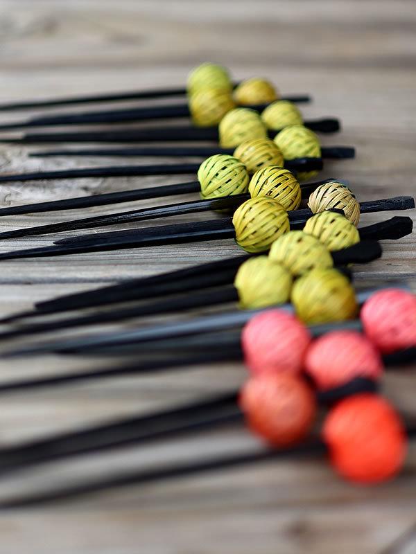 竹手毬かんざし