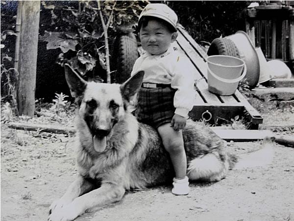 愛犬アトマ