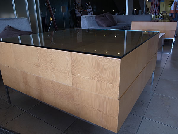 竹テーブル