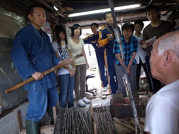 竹矯め職人