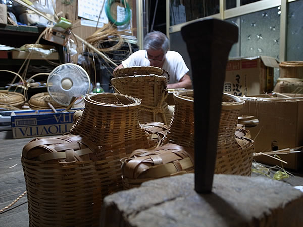 竹職人のくさび
