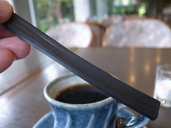 竹炭スプーン