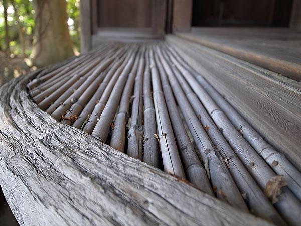 竹の月見台