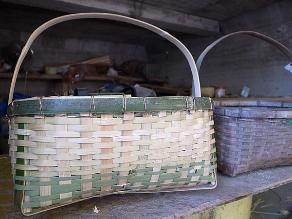農家さんの籠