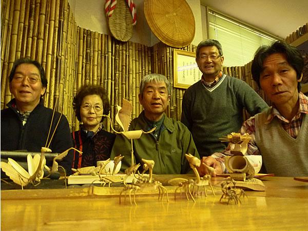 竹の虫製作のお客様