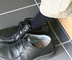竹繊維入りの靴の中敷