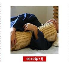 白竹抱き枕ゴザ目