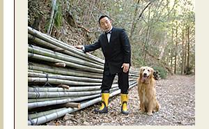 竹林から伐りだした竹