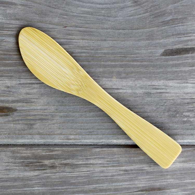 極上竹バターナイフ(小)