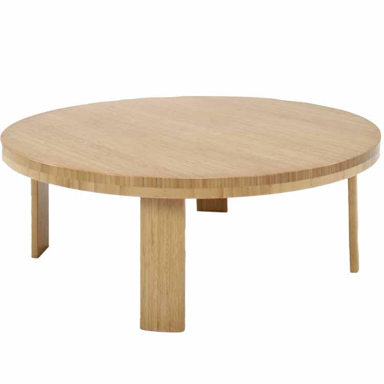 ちゃぶ台(竹)/丸テーブル