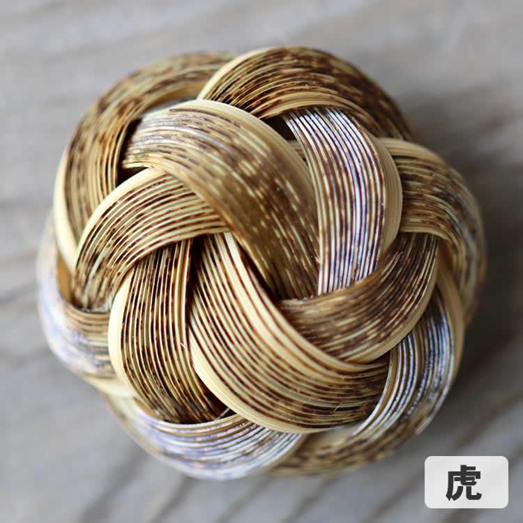 竹ブローチ(結び)