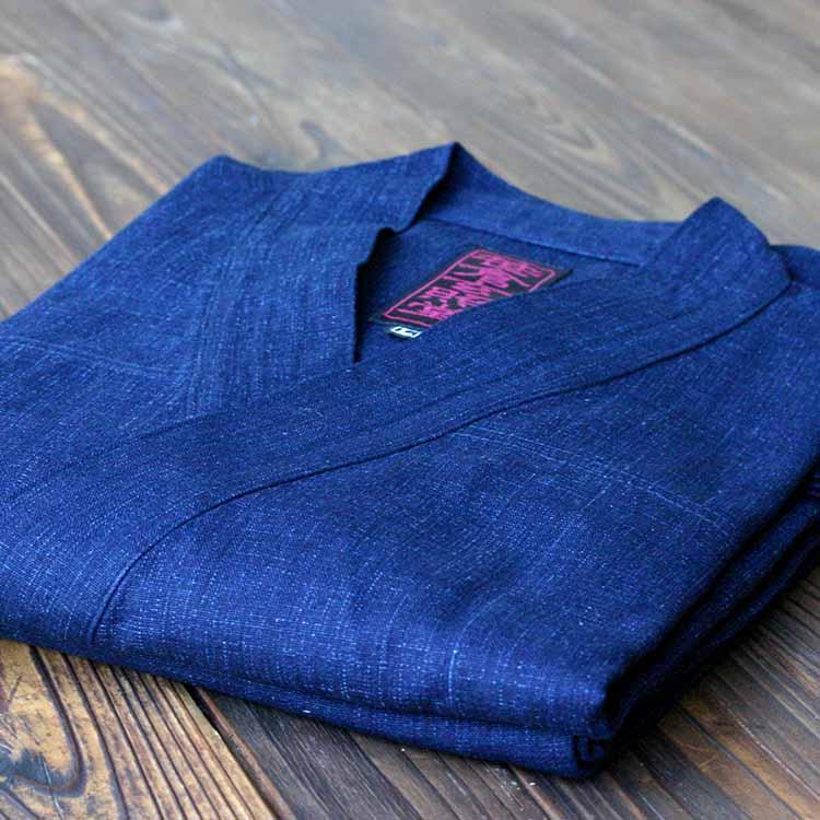 藍染め作務衣