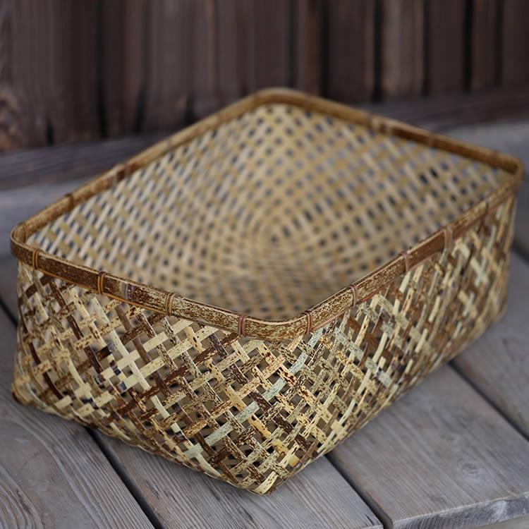 虎竹四ツ目衣装籠