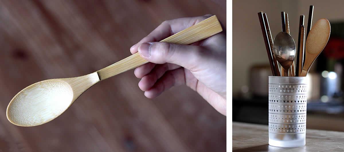 極上竹カレースプーン