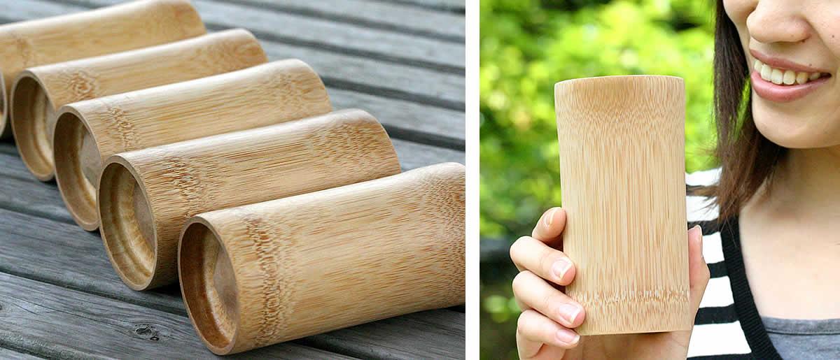 竹ビアグラス