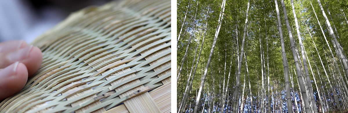 伝統の技が光る淡竹椀かご、淡竹