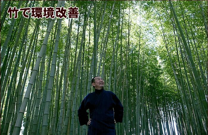 竹で環境改善