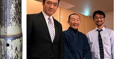 尾崎知事と仲山先生