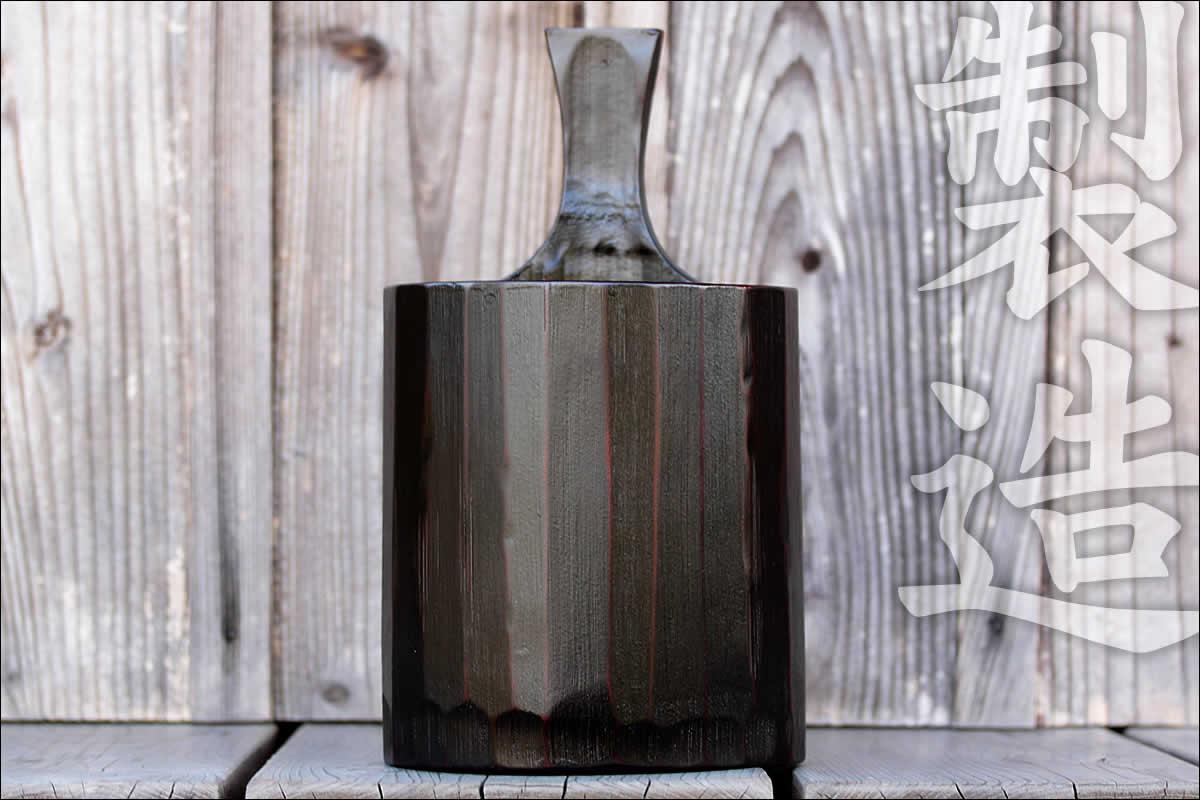 竹ワインクーラーの製造