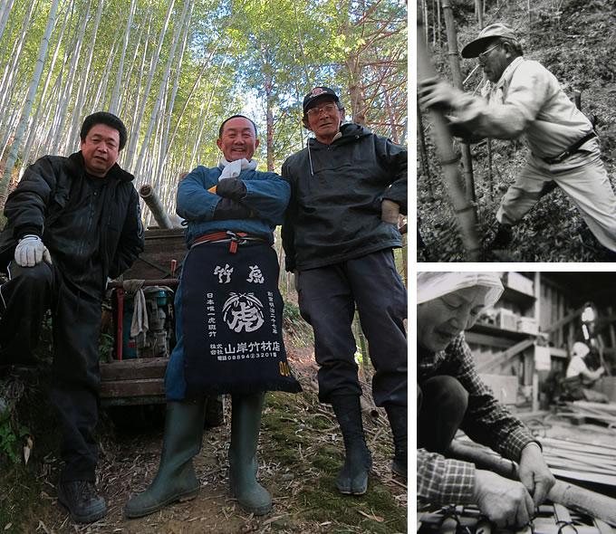 竹職人と竹細工