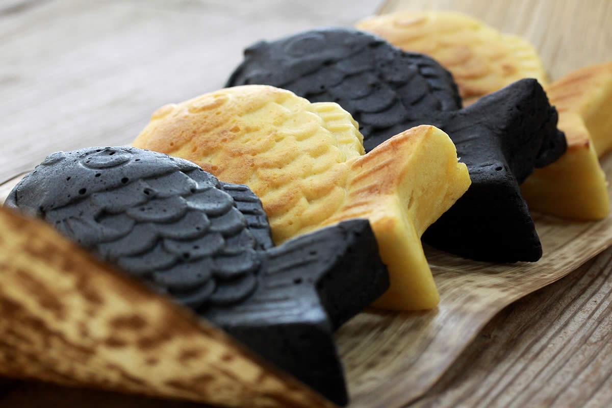 竹炭たい焼き