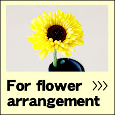 For flower arrangement