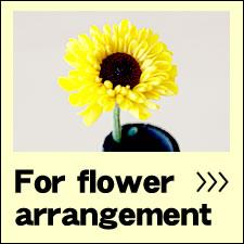 For flower arrangement