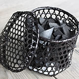 Bamboo charcoal with bamboo baskets